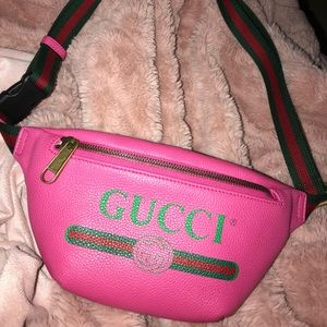 Gucci Small Pink Fanny Pack
